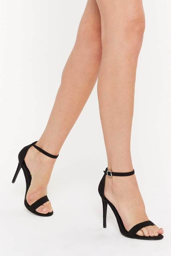 0d2ab6007e1 Immi Suede Stiletto 2 Part Heels