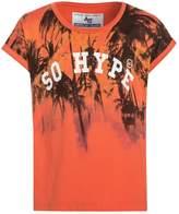 American College SUNSET Print Tshirt salmon