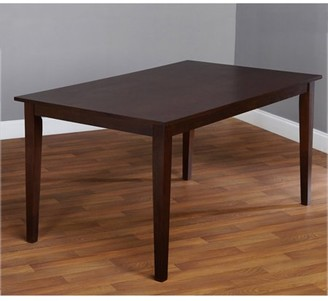 Tms TMS Contemporary Large Dining Table, Espresso