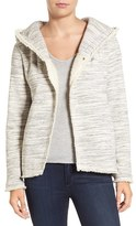 Women's Dylan Hooded Jacket With Faux Fur Trim