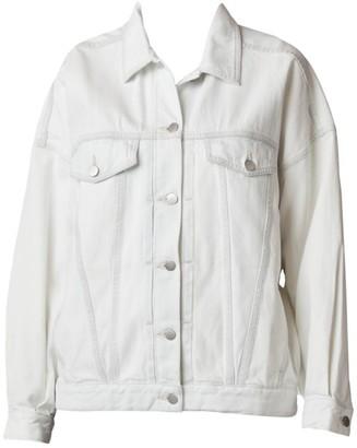 J Brand Drew Oversized Denim Trucker Jacket