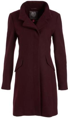 Vince Camuto Women's Car Coats Port - Port Royale Notch Collar Wool-Blend Coat - Women