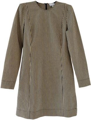 Ganni Fall Winter 2019 Beige Cotton - elasthane Dresses