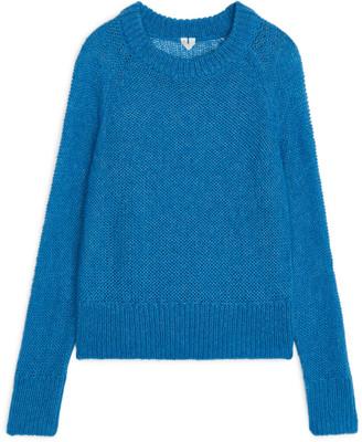 Arket Sheer Wool Nylon Jumper
