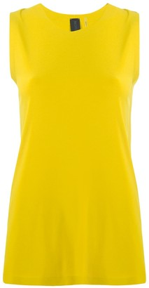 Norma Kamali plain sleeveless top