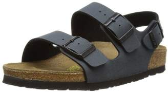 Birkenstock Unisex Adults' MILANO Ankle Strap Sandals Grey Size: 3 UK