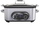 Black & Decker BLACK+DECKER BLACK + DECKER Multi-Cooker Slow Cook & Sear - Stainless Steel