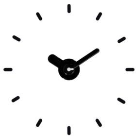 "La Crosse Technology 20"" - 24"" Adjustable Floating Dial Wall Clock"