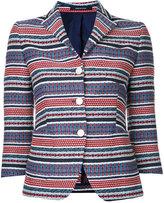 Tagliatore Mimma blazer - women - Cotton/Acrylic/Polyester - 40