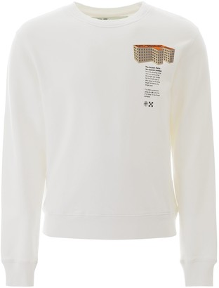 Off-White Rationalism Building Print Sweater