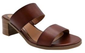 Sugar Women's Halo Two-Band Block-Heel Slides Women's Shoes
