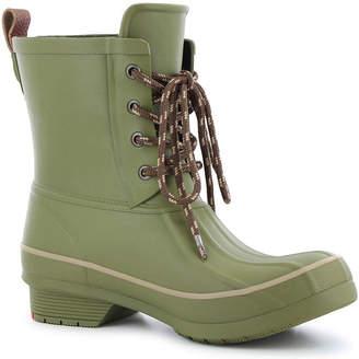 Western Chief Womens Classic Rain Duck Rain Boots Waterproof Flat Heel Wide Width