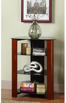 Walker Edison Wood Accent 35-inch Component Tower