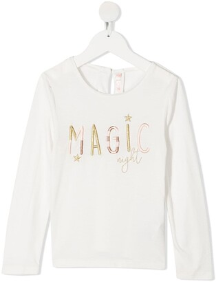 Billieblush Embroidered Longsleeved T-Shirt