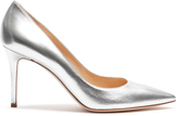 Gianvito Rossi Gianvito point-toe leather pumps