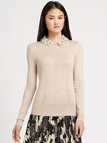 Milly Embellished Sweater