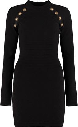 Balmain Jersey Sheath Dress