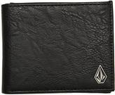Volcom Slim Stone Wallet Black