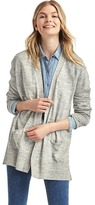 Soft open-front cardigan