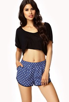 Forever 21 Geo Dolphin Shorts