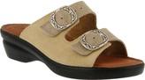 Spring Step Flexus by Suede Slide Sandals - Coast