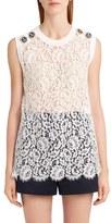Dolce & Gabbana Women's Sleeveless Lace Top