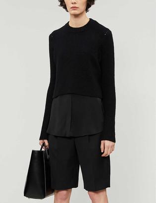 AllSaints Tierny wool-blend jumper