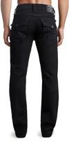 True Religion Men's Denim Pants and Jeans 2SB - Body Rinse Black Flap-Pocket Ricky Jeans - Men & Big