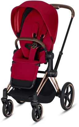 CYBEX Priam Rose Gold Stroller with All Terrain Wheels