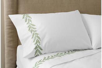 Hamburg House Willow Sheet Set - Green Queen