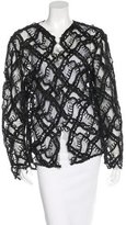 Chanel Quilted Lace Cardigan