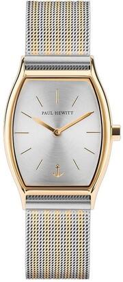 Paul Hewitt PH-T-GG-SS-44S Modern Edge Silver IP Gold