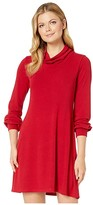 Karen Kane Turtleneck Sweaterdress (Red) Women's Clothing