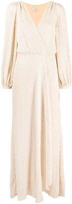 Temperley London Billie sequin wrap dress