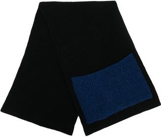 Ssheena wrap-style scarf