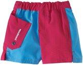 Patagonia Meridian Board Shorts (Baby) - Magenta/Blue-6 Months
