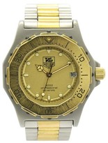 Tag Heuer 3000 Professional200 935.413 Stainless Steel & Gold Plated Quartz 34.5mm Mens Watch
