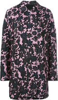 Christian Wijnants floral print coat - women - Cupro/Viscose/Polyester - 36