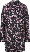 Christian Wijnants floral print coat - women - Polyester/Cupro/Viscose - 38