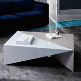 west elm Faceted Lacquer Coffee Table