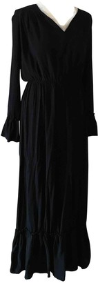 Liviana Conti Black Cotton Dresses