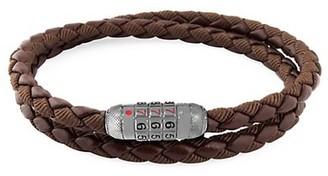 Tateossian Combo Scoubidou Braided Wrap Combination Bracelet