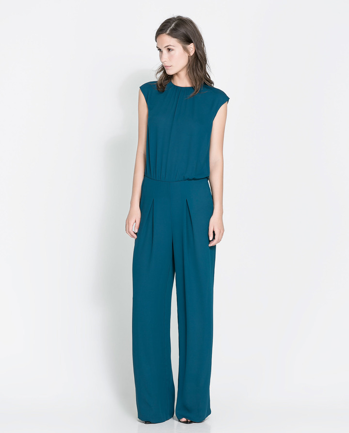 Zara Open-Back Jumpsuit