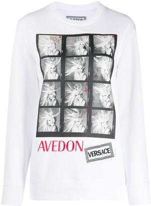 Versace Avedon photo print T-shirt