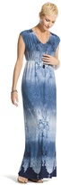 Chico's Ombre Paisley Maxi Dress