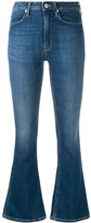 Dondup high-rise flared jeans