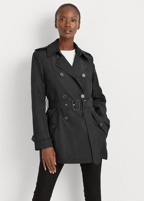 Ralph Lauren Short Taffeta Trench Coat