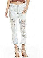 C & V Chelsea & Violet Destructed Boyfriend Jeans