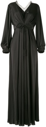Paule Ka Raso plunge-neck gown