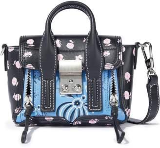 3.1 Phillip Lim Pashli Nano Floral-print Leather Shoulder Bag